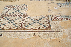 Israel-04855 - Palace Mosaics (archer10 (Dennis) 94M Views) Tags: israel caesarea roman crusader ruins mediterranean globus sony a6300 ilce6300 18200mm 1650mm mirrorless free freepicture archer10 dennis jarvis dennisgjarvis dennisjarvis iamcanadian novascotia canada mosaic nationalpark hippodrome palace