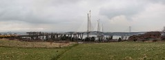 New Queensferry Crossing panorama south 2 (Bill Cumming) Tags: scotland forth river bridge bridgeconstruction southqueensferry