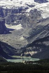 Lake Louise, Alberta   Banff National Park (Susan.Johnston) Tags: canada alberta banffnationalpark chateaulakelouise lakelouise victoriaglacier summer viewfromgondola