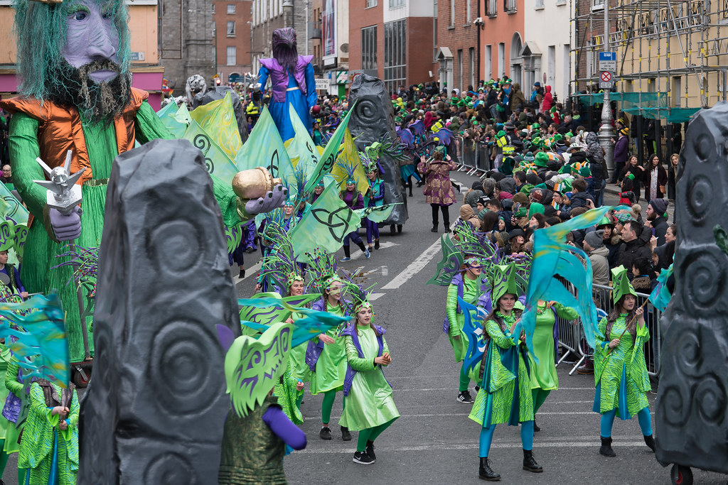 THE INISHOWEN CARNIVAL GROUP [PATRICKS DAY PARADE IN DUBLIN 2017]-126030