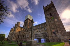 The #awesome #cathedral of #durham in #england uk  This really was a #marvellous #day  #sky #blue #cloud #church #old #history #stone #religion #sun #daylight #hdr #travel #travelmag #journey #voyage #pentax #wideangle (peterschneider608) Tags: voyage blue stone old pentax journey wideangle history day awesome sky daylight travelmag hdr durham england religion sun cloud marvellous church cathedral travelhdrphotomatix
