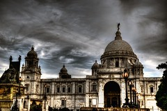 Victoria Memorial (Rupam Das) Tags: nikon nikkor d800 victoriamemorial architecture history kolkata india iconic beautiful monument marble grand magnificent culture outdoor art building sky clouds blue travel prime westbengal famous old hdr historic artistic light yellow black stone