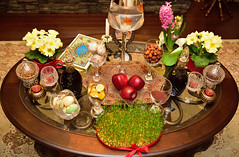 Happy spring (drafiei1) Tags: nowrooz nowruz نوروز haftseen spring newyear iraniannewyear سالنو هفتسین سفرههفتسین fruits vegetables fish apple