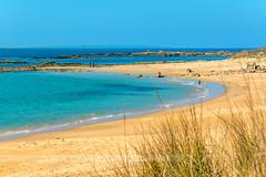 Erdeven plage de Kerouriec (patrice.baissac) Tags: plage beach sable sand mer océan eau france bretagne brittany morbihan erdeven rivage côte paysage landscape