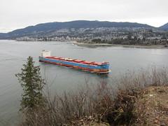 IMG_6924 (vancouverbyte) Tags: vancouver vancouverbc vancouvercity bulkcarrier prospectpoint