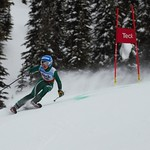Adam Usher Teck U14 Provincials at Big White Day 1 Winner PHOTO CREDIT: John Legg