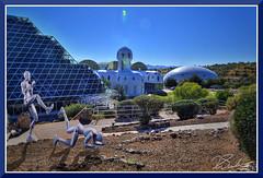 KunBioshereFight (bjarne.winkler) Tags: hikari sensei kun the master light testing double composite at biosphere 2 az