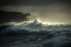 Swellegant (rosiebondi) Tags: ocean storm light sea seascape wave waves surf australia
