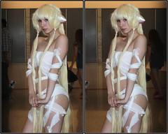 Anime Matsuri, George R. Brown Convention Center, Houston, Texas 2017.04.08 (fossilmike) Tags: houston texas animematsuri cosplay 3d crosseye