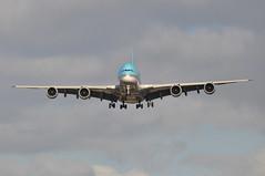 KE0907 ICN-LHR (A380spotter) Tags: landing approach arrival finals shortfinals airbus a380 800 msn0128 hl7622 대한항공 koreanair kal ke ke0907 icnlhr runway27r 27r london heathrow egll lhr