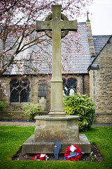 Memorial (bitrot) Tags: 1914 1918 altrincham church churchyard cross dunham dunhammassey firstworldwar memorial poppies poppy village warmemorial wreath ww1 wwi lightroom lightroom6 lr6 canoneos5dmarkiii ef50mmf14usm 50mm f14 1160sec iso100