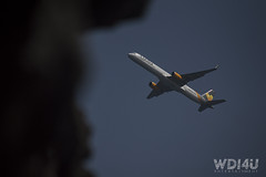 Let your dreams flight with Condor Airline (wdi4uentertainment) Tags: condor wdi4u entertainment condorairline grancanaria aguadulce air plane sky