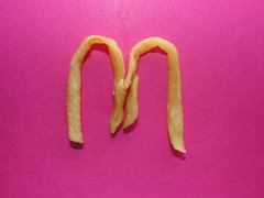 McDonald's golden arches with French fries    DSCN1934 (EARLIE BYRD) Tags: mcdonalds golden arches with french fries