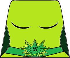 uma thurman poisin ivy torso decal (randommanmaterial) Tags: uma thurman poisin ivy head decal forever batman bat man dc comics super heroes superheroes cartoon