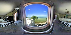 Relaxed Feeling (Re)Wired With Window(s) / Keyboard & Boating Distractions - IMRAN™ (ImranAnwar) Tags: 360 apollobeach beach boating boats candid casualliving clouds commentary distractions equirectangular florida home humor imran imrananwar interior lifestyle luxury music opinion palmtrees panorama procrastination realestate seaside spherical tampabay