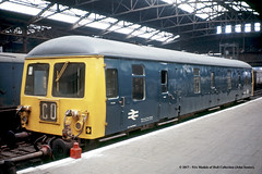c.1972 - Manchester (Victoria). (53A Models) Tags: britishrail cravens class129 dmpv m55997 diesel parcelsvan manchester victoria train railway locomotive railroad