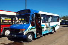 42545-04 (Ian R. Simpson) Tags: p545pne mercedes o814 plaxton beaver2 stagecoachincumbria stagecoachinmanchester stagecoachmanchester theospreybus bus minibus