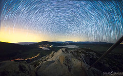 Cuyamaca Starry Night (ihikesandiego) Tags: stonewall peak cuyamaca lake star trails san diego night sky