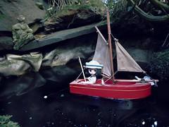 BaD March 14  -  Fish (lyndell23) Tags: blytheaday petiteblythe margaretmeetsladybugpetite takarapetite fishing boating sailing fishpond relax