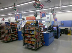 New checklane counters, all decked out for Christmas (l_dawg2000) Tags: 2016remodel blackdecor20 remodel spark sparklogo iuka mississippi unitedstates usa