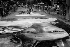 Los ojos de la ciudad (@rontacuchi) Tags: art arte black blanco calle eyes graffiti negro ojos paint people pintura street white