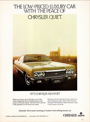 1973 Chrysler Newport (Canadian Ad) (aldenjewell) Tags: 1973 chrysler newport canadian ad