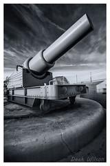 Send in the Big Guns (D.K.o.w) Tags: hardingsbattery europapoint therock 45tongun canon7dmkii mono blackandwhite bw straitsofgibraltar sigma 1020 big guns