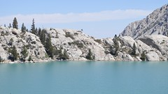 blue view (Who am I today?) Tags: johnmuirwilderness mountainlake