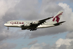 A7-APA A-380-861 Qatar Airways (ChrisChen76) Tags: heathrow a380 airways qatar a380861
