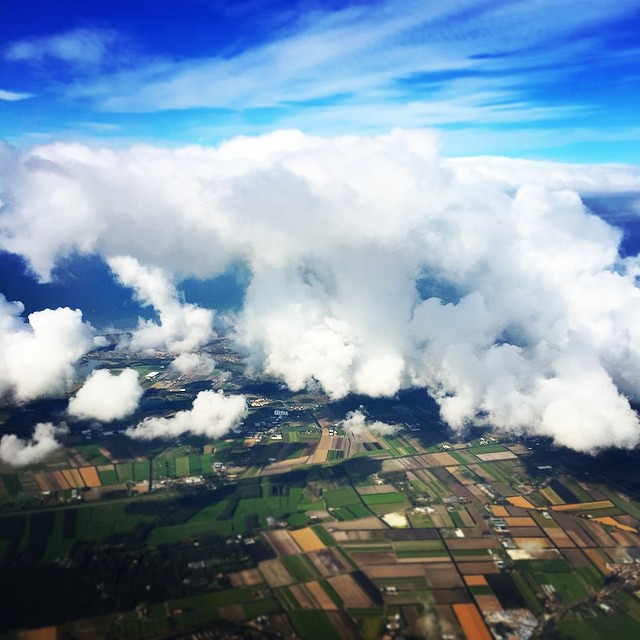 The view on my way to Amsterdam #ADE