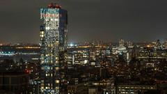 25th floor view (dansshots) Tags: nyc newyorkcity newyork cityscape manhattan bigapple newyorkatnight thebigapple nycatnight dansshots