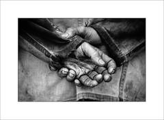 Hands (tkimages2011) Tags: monochrome mono hands dirt grime mechanic