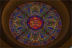 Kirchenfenster Mallorca (HugoFrings) Tags: geotagged esp spanien baleares sller soldemallorca geo:lat=3976570600 geo:lon=271559867
