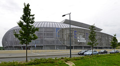 Stade Pierre-Mauroy, Lille, France 02/08/2014 (Gary S. Crutchley) Tags: travel france sport club ed football nikon europe stadium pierre soccer s af olympic nikkor lille sporting continent stade d800 osc 1635mm f40g mauroy pierremauroy