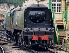 Manston BoB class (R_W_M) Tags: steam southernrailway battleofbritainclass swanagerailway