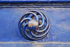 1 -  Maisons-Alfort Rue d'Estienne d'Orves Porte bleue Poignée