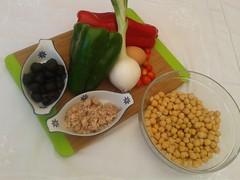 Ensalada de garbanzos (De rechupete) Tags: ensalada garbanzos vinagreta ensaladadeverano ensaladadelegumbres ensaladadegarbanzos