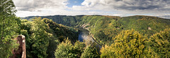 Saarland: view from castle Montclair to river Saar (designladen.com) Tags: panorama germany deutschland landscapes europa europe dreams allemagne saarland sarre burgmontclair landscapesdreams dsc09988edit