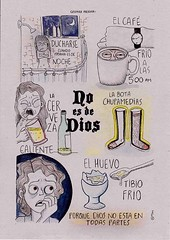 no es de dios (casimira parabolica) Tags: art illustration comic arte drawing dibujo ilustracion personaje casimira noesdedios