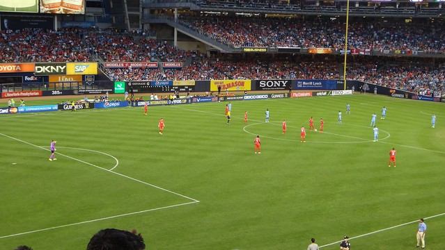 LIVERPOOL VS MAN CITY at Yankee Stadium
