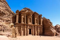 Petra, Jordan (flrent) Tags: temple petra jordan camel monastery jordanie petra