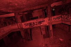 Wring Your Neck (Thomas Hawk) Tags: california usa lightpainting abandoned night graffiti hotel unitedstates unitedstatesofamerica eastbay byron contracostacounty byronhotsprings dmumeetup092609 dmumeetup09262009