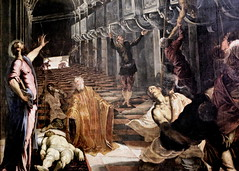 IMG_6955B Le Tintoret. Tintoretto. (Jacopo Robusti)  1519-1594. Venise. (jean louis mazieres) Tags: milan museum painting italia milano muse peinture museo italie peintres tintoretto jacoporobusti pinacotecabrera letintoret