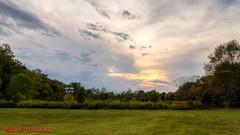 Sunset at the Warner Parks Nature Center - October 2, 2014 (mikerhicks) Tags: sunset usa landscape geotagged unitedstates nashville hiking tennessee hdr photomatix edwinwarnerpark warnerparks canon7d vaughnsgap oakhillestates sigma18250mmf3563dcmacrooshsm geo:lat=3606097983 geo:lon=8690686315 warnerparksnaturecenter