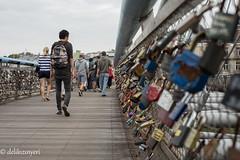(delikizinyeri) Tags: bridge man walking lock poland krakow locks