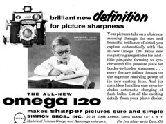 1954 Omega 120 Camera (dok1) Tags: 1954 national advertisements geographic dok1