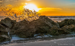 Saturday Night Out (DonMiller_ToGo) Tags: sunset sky orange sun fall gulfofmexico yellow clouds landscape seascapes florida sunsets g5 skyscapes goldenhour skycandy cloudsonfire skypainter myflorida sunsetmadness sunsetsniper caspersensbeach