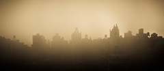 USA | NYC Hazy Awakening (Solomulala | mostly weekends ;-( !) Tags: city morning newyork skyline haze rooftops 2013 waterdeposits solomulala murielcdejong