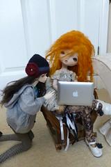 Molly and Brienne shopping :) (luvsdollies) Tags: art dim laia ariana leeke
