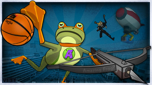 Amazing Frog icon Basketball